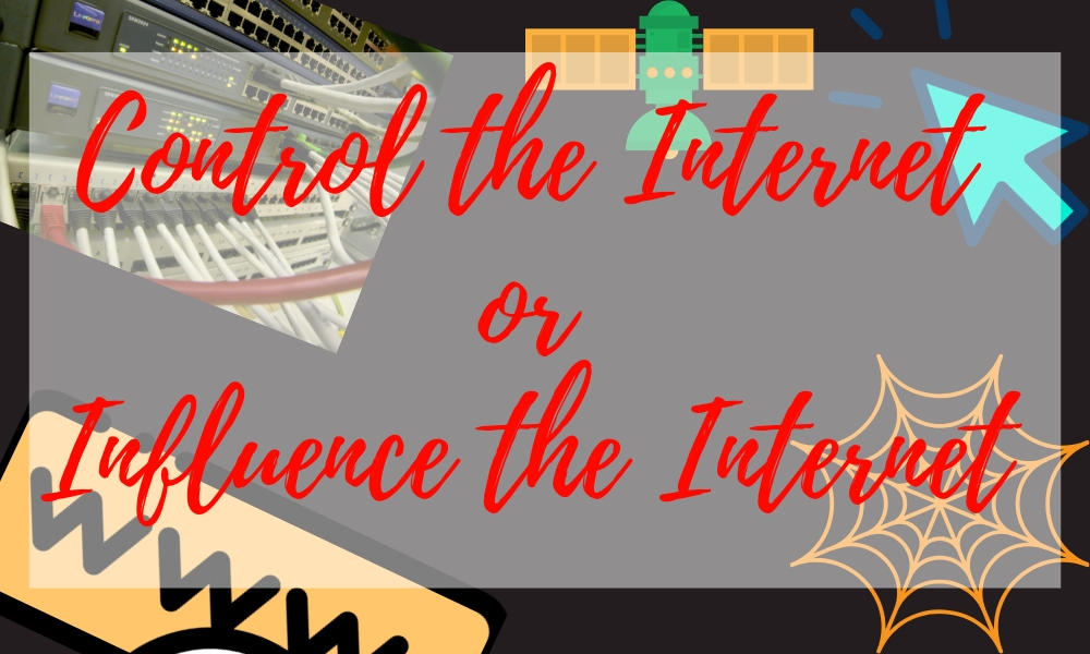 influence the internet