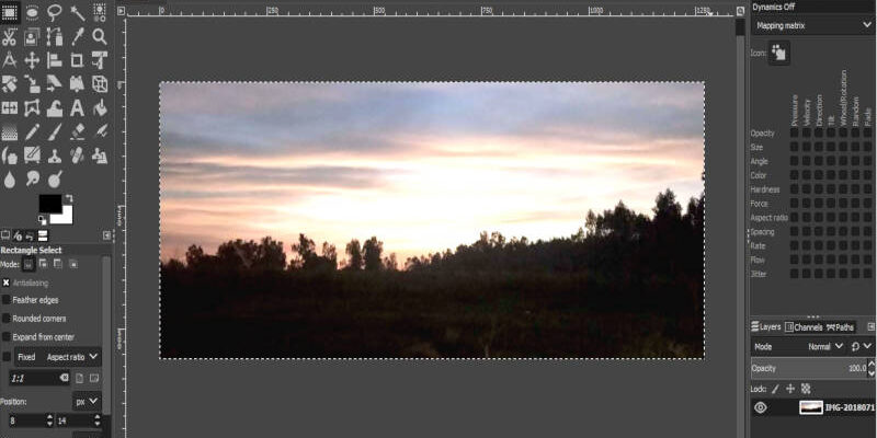 Edit the First Capture
