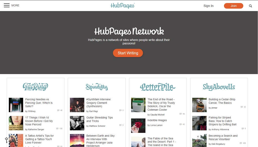 Free-Blogging-Platform-Hubpages