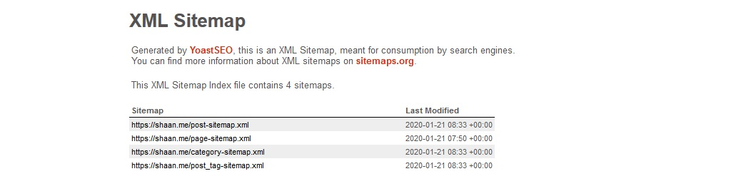 Xml Sitemap for Submit A Website To Search Engines